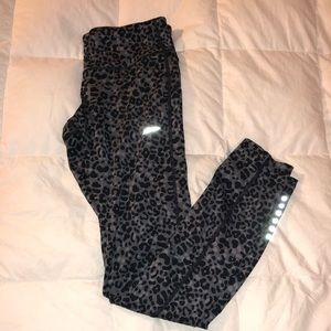 Nike cheetah print running leggings